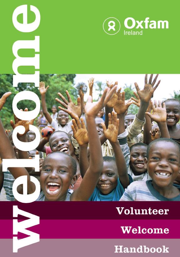 Welcome Handbook for Oxfam Volunteers