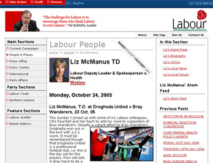 Blog for Liz McManus TD