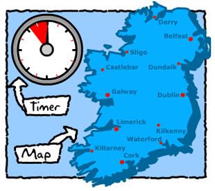 Race Around Ireland Game
