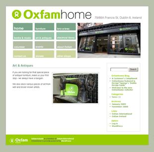 Oxfamhome Website
