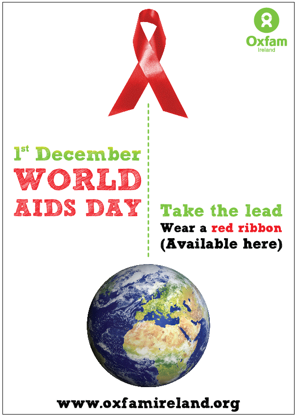 Posters for World AIDS Day – Jean O'Brien