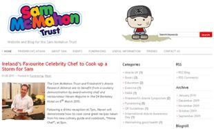 Sam McMahon Trust Website