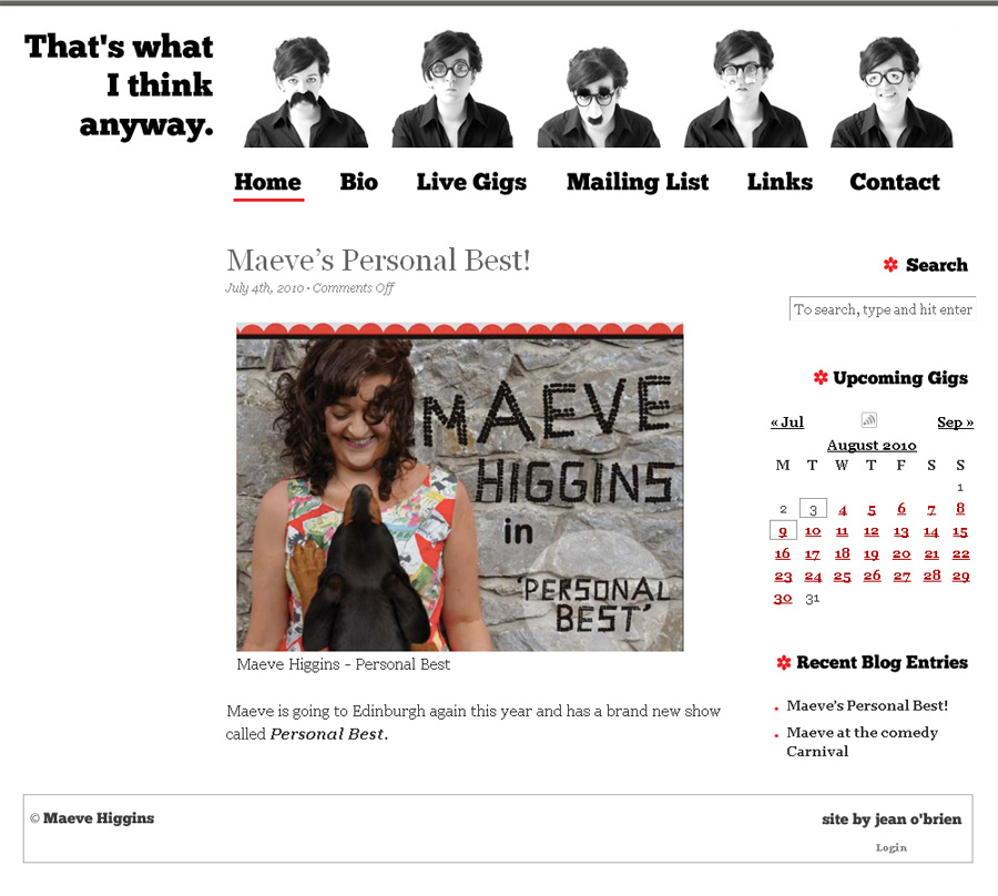MaeveHiggins.com