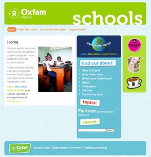 Oxfam Schools Site