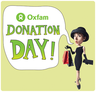 Oxfam Donation Day