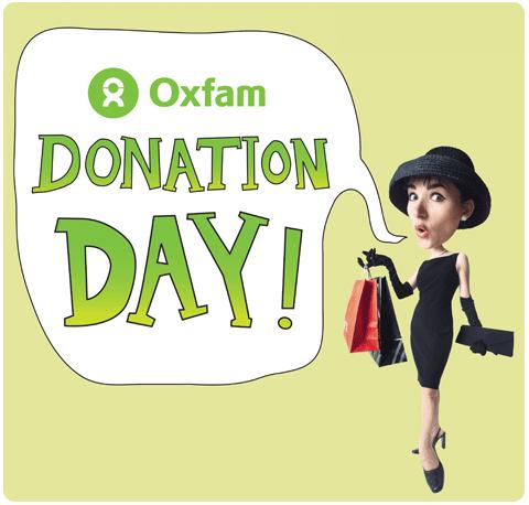 Oxfam Donation Days