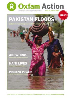 New magazine for Oxfam Ireland: Oxfam Action