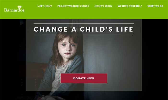 Change a Child's Life for Barnardos