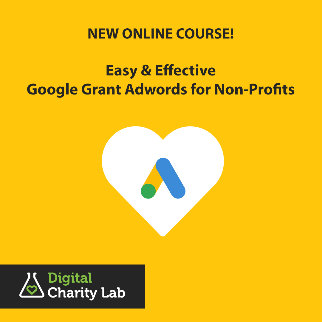 Online Course: Google Grant Adwords, for Non-Profits and Charities