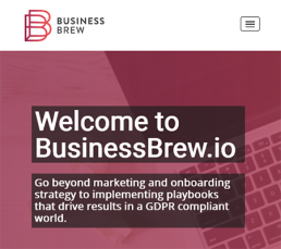 BusinessBrew WordPress Website
