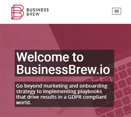 BusinessBrew WordPress Website