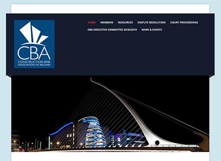 Construction Bar of Ireland WordPress Website