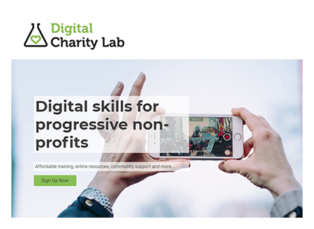 Digital Charity Lab Redesign