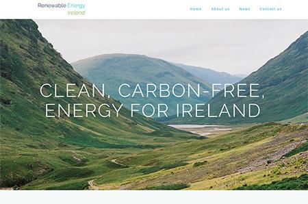 Renewable Energy Ireland Website