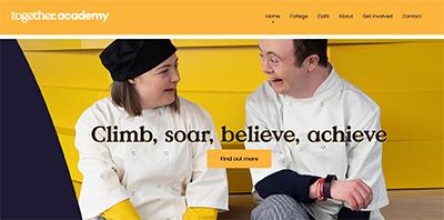 Website for Together Academy